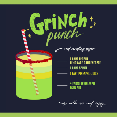 Grinch Punch post