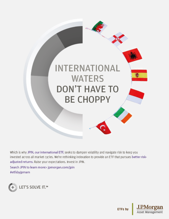 Internation waters ad graphic