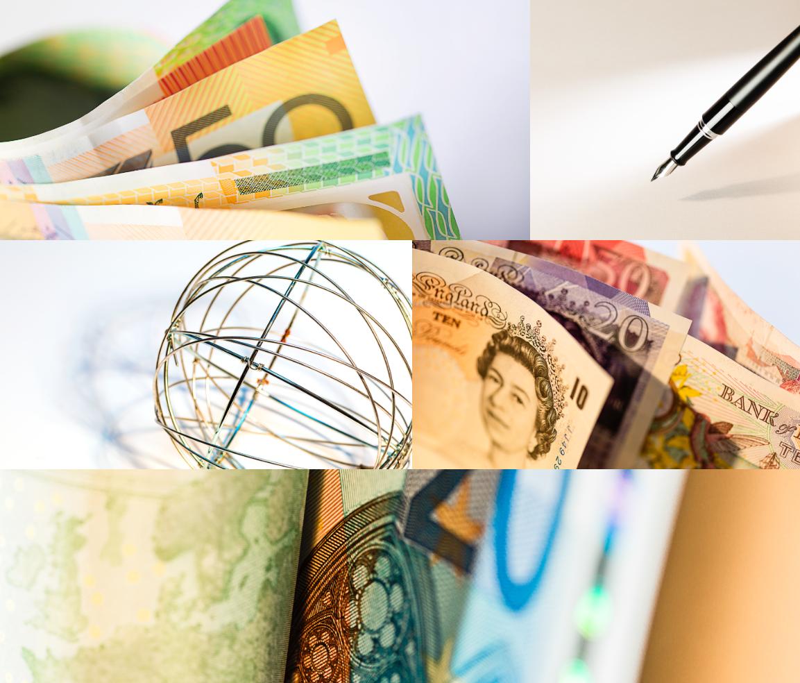 JPM Global Liquidity graphics collage