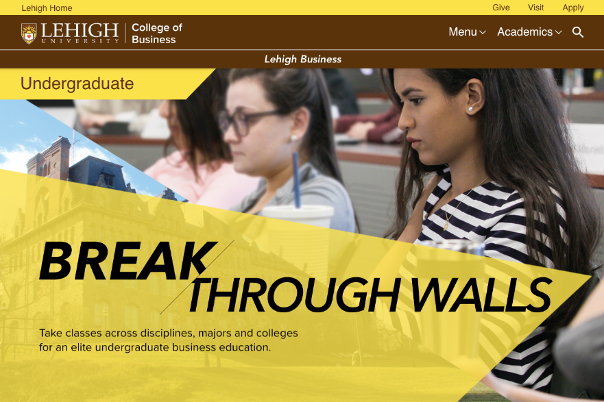 Lehigh Break Through Walls
