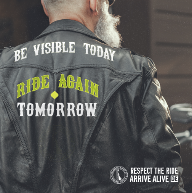 Be Visible Jacket post