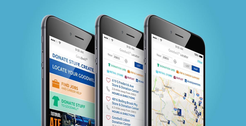 Phone App images