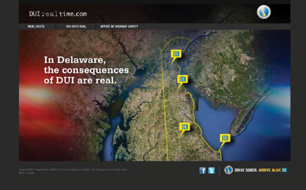 DUI Realtime map