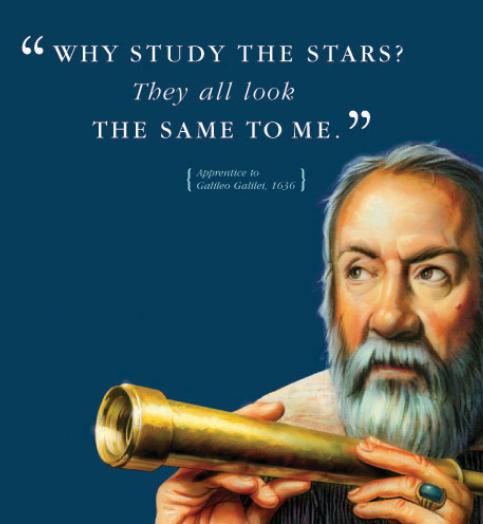 Historic Blunders - Galileio