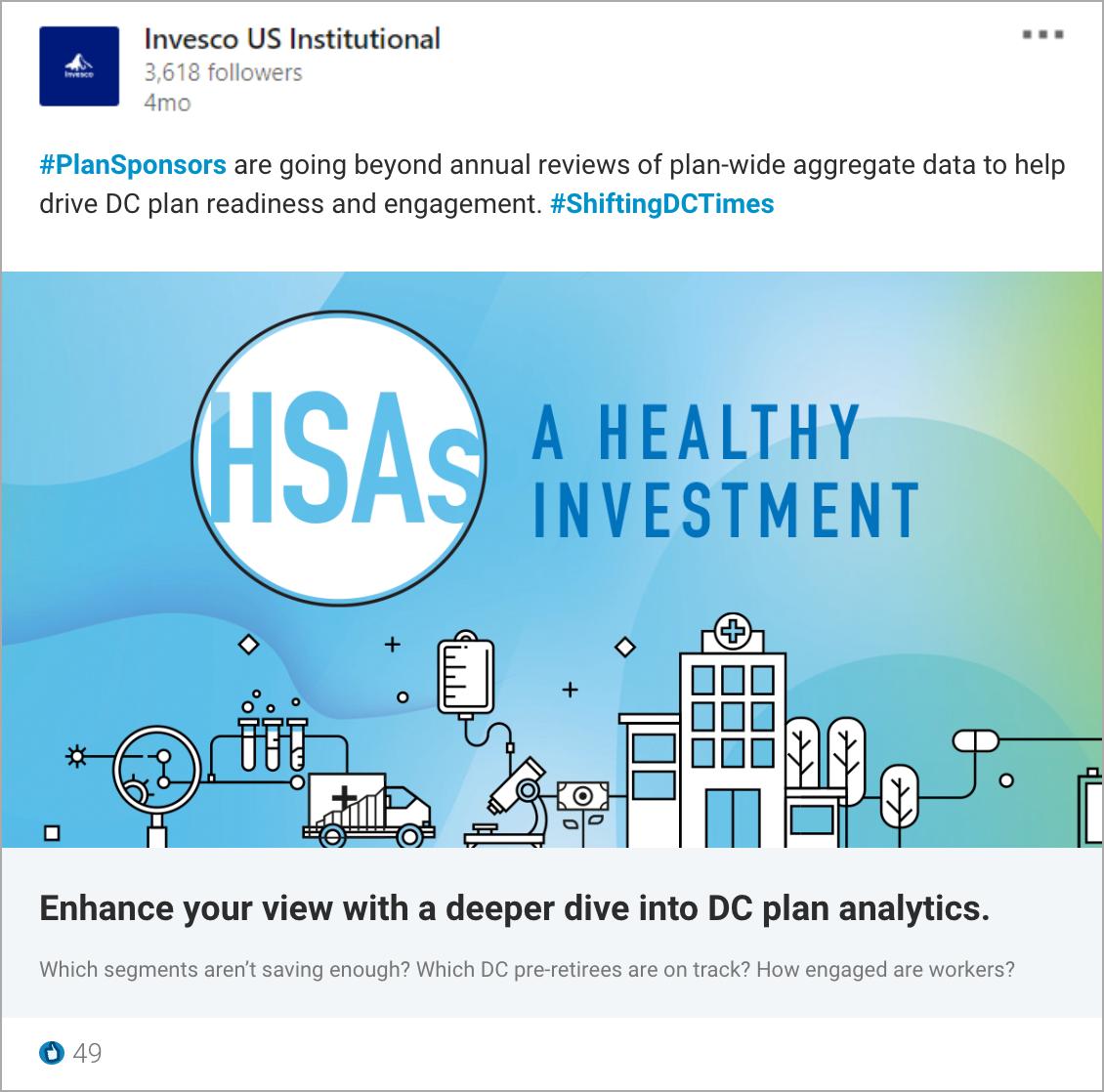 HSA LinkedIn Post