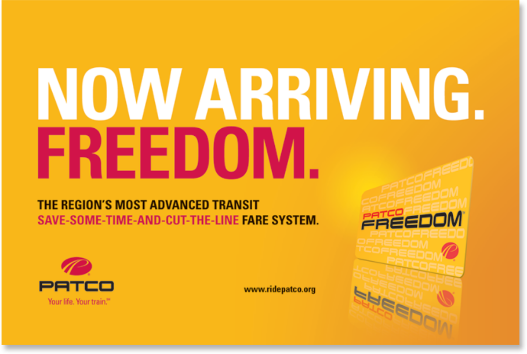 Freedom Card Banner Ad