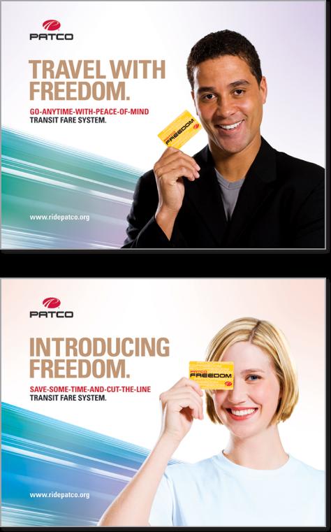 Freedom card ads